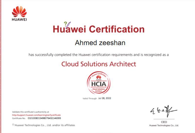 My Journey to Huawei HCIE :)