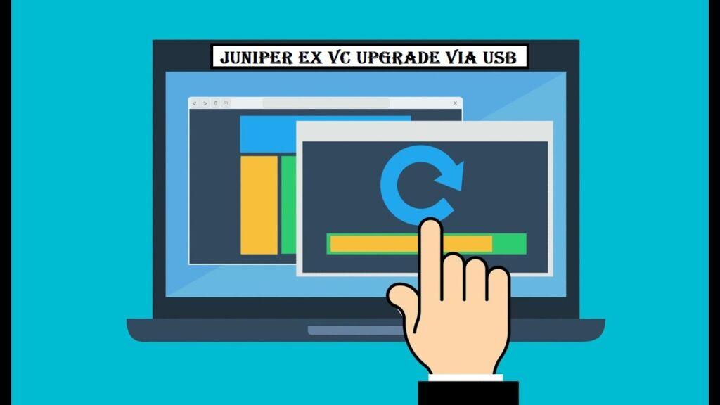Juniper EX VC Upgrade via USB
