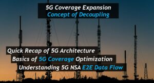 5G Coverage Expansion - Concept of Decoupling