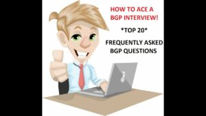 BGP Interview Questions and Answers
