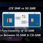 LTE SINR vs 5G SINR